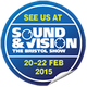 Visit us at Bristol Sound and Vision 2015.  Demo. room 306