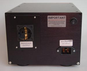 Air Audio Services AC-2K Balanced Mains Transformer, Euro. With Schuko socket.